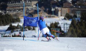 El equipo francés femenino ya entrena en la pista Avet de Grandvalira a 16 días de las Finales