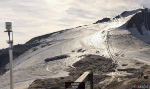 La falta de nieve obliga a retrasar la apertura del glaciar de Tignes