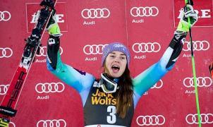Tina Maze venció al Jet lag en el slalom gigante de Are