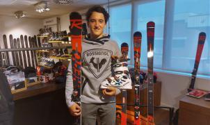 El esquiador Tomás Barata formará parte del equipo de Rossignol España