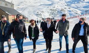 La Generalitat reconoce que si no hay movilidad comarcal las estaciones de esquí deberán cerrar