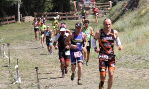 El campeón de España de Duatlón gana el espectacular Triatlón de Sierra Nevada