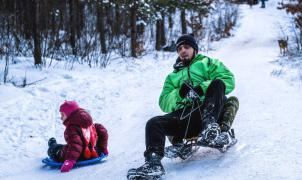 Gran aumento de los accidentes de trineo en los Alpes: 3 heridos de gravedad en Chamrousse