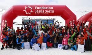 La intensa nevada en Baqueira Beret, antesala del 13º Trofeo de Esquí Fundación Jesús Serra