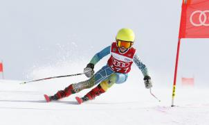 Se disputo en Baqueira la competición de esquí alpino XVIII Trofeu Amics de Montgarri