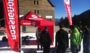 último Ski test