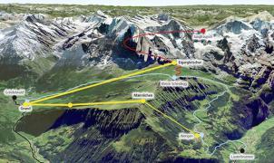 Inversiones millonarias: El segundo telecabina del Jungfrau entrará en funcionamiento este invierno