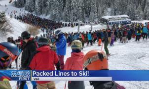 La guerra de forfaits y una gran nevada, detrás de las colas más largas de la historia en Vail