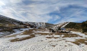 El Sistema Central vive una de sus peores temporadas de esquí con las estaciones cerradas