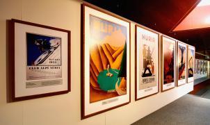 """Vall de Núria acoge la exposición """"Arte para hacer historia. Cartelismo de Vall de Núria"""""""