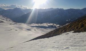 La Vall Fosca abrirá como estación con itinerarios de esquí de montaña y raquetas de nieve