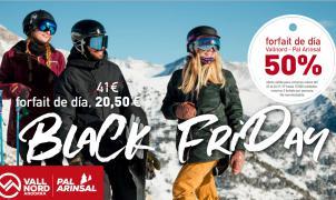 ¡Apúntate al Black Friday de Vallnord–Pal Arinsal! 10.000 forfaits de día a mitad de precio