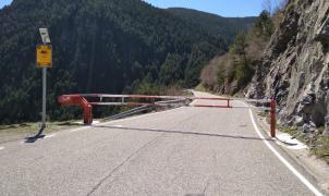 Andorra cierra las carreteras para evitar desplazamientos a zonas de recreo