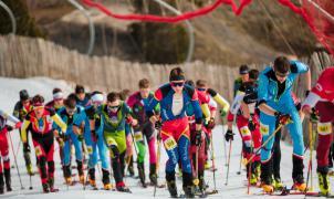 Así ha sido la espectacular Vertical Race de los Campeonatos del Mundo Comapedrosa/Andorra