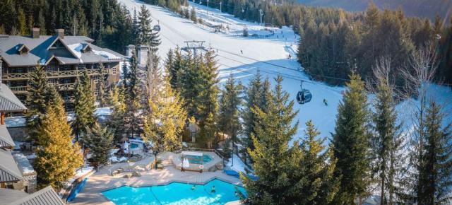 Blackcom ski in out