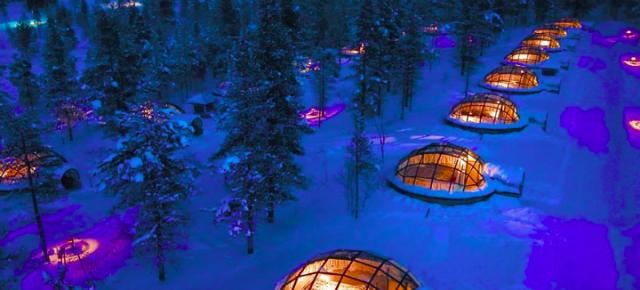 Finlandia... Hotel Igloo de cristal