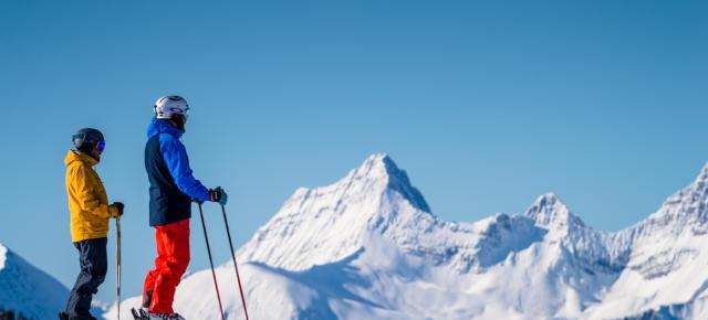 el mejor esqui Lake Lousie ski canada