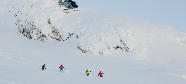 Heli Ski con Northern Escape en Yellow Cedar Lodge - Canadá