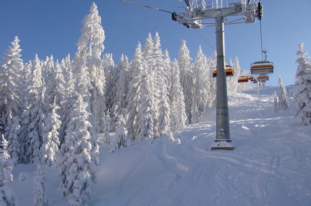 Grandes cantidades de nieve en el dominio esquiable de Hochkönig