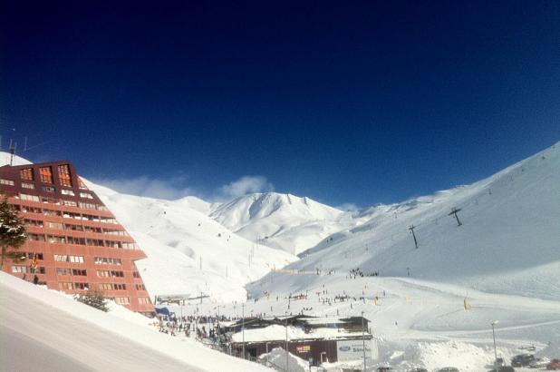 Imagen de Astún después de las nevadas de enero del 2013