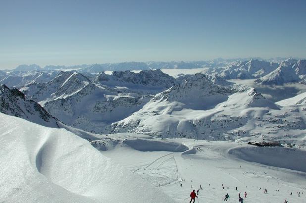 Descenso del glaciar de Moelltall