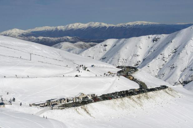 Mount Dobson ski resort, South Island, New Zealand