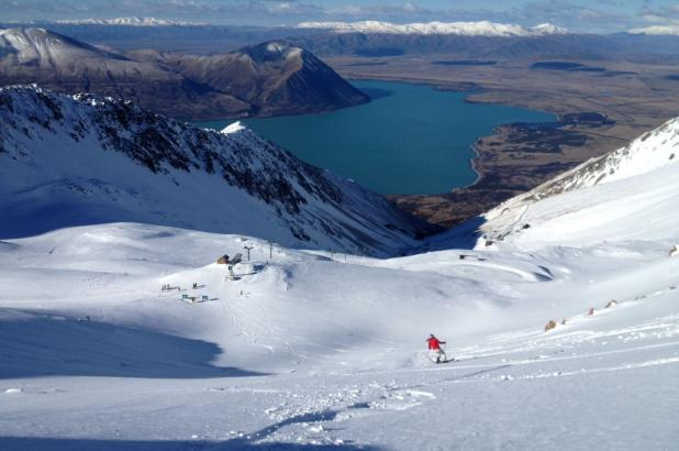 Nueva Zelanda, Isla del Sur, South Island, Ohau Snow Fields