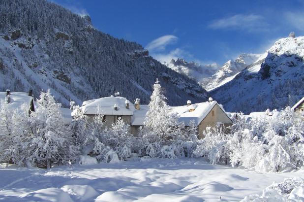 Pueblo de Saint-Dalmas Le Selvage