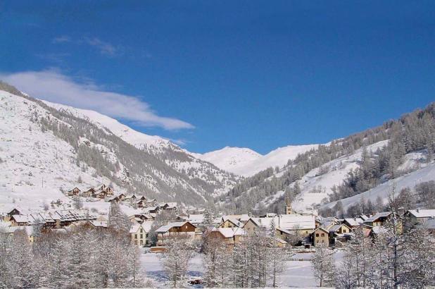 El valle de Queiras con los pueblos de Abriès y Ristolas