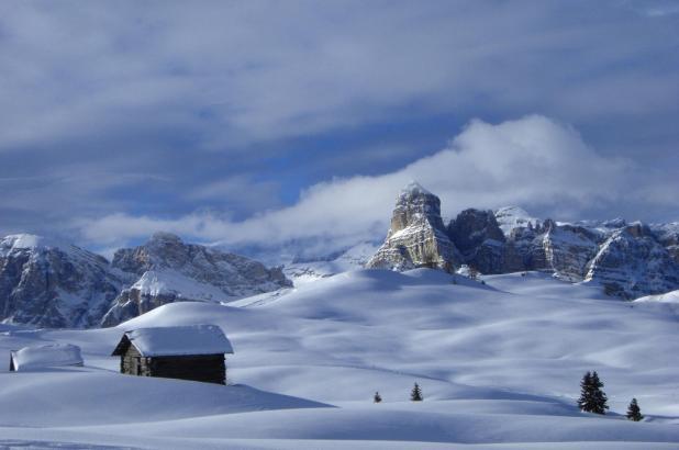 Estación de esquí de Alta Badia en El Tirol italiano