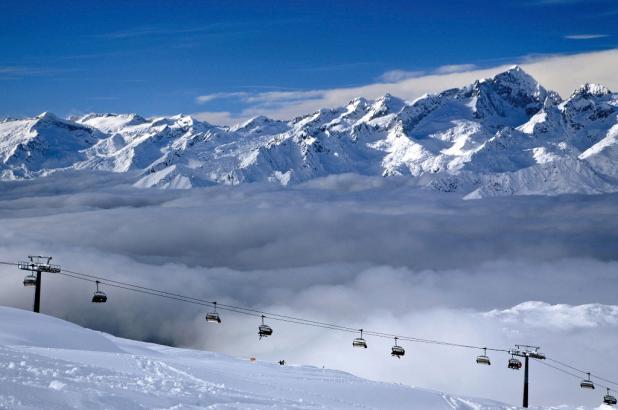 Aspecto de los Dolomitas en Alta Badia