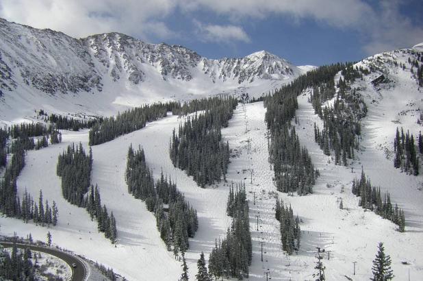 Estación de esquí de Arapahoe Basin en Colorado