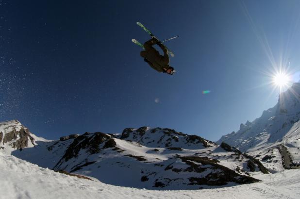 Estación de esquí de Artouste en les Pyrénées Atlantiques