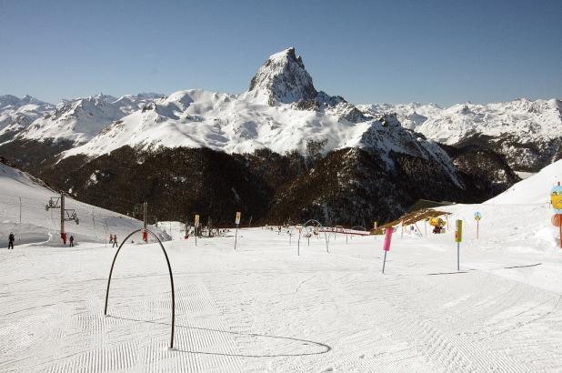 Estación de esquí de Artouste en el Pirineo francés