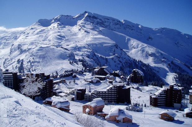 Imagen de la estación de esquí de Avoriaz