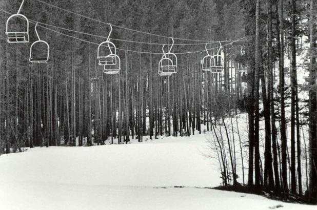 Telesilla en Bear Paw Ski Bowl