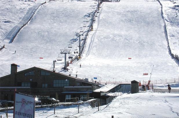 Sierra de Béjar-La Covatilla, base estación esquí