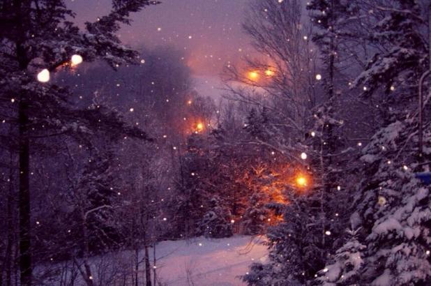 Esquí nocturno en Black Mountain