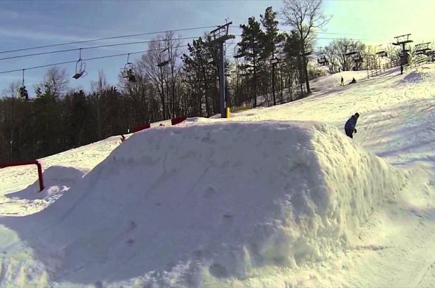 Snowpark en Boler Mountain