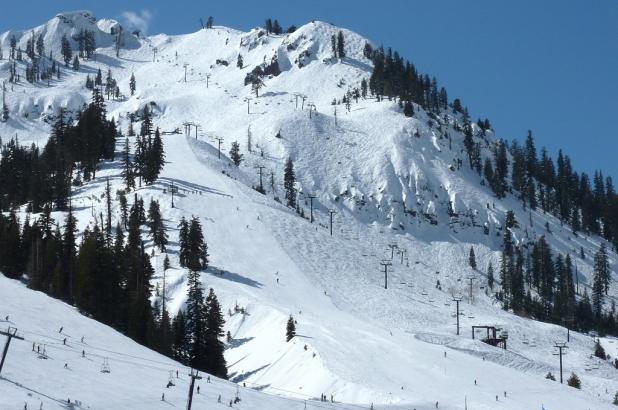 Esquiando en Boreal