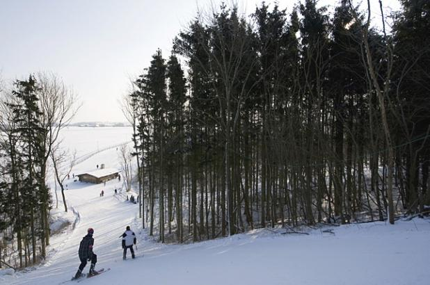 Imagen de las pistas de esquí de Bornholm Ski