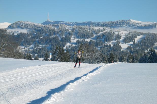Esquí de fondo en Bugnenets Savagnières