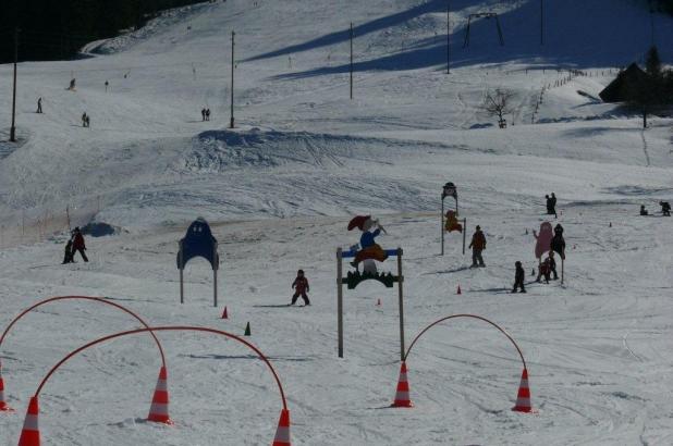 Esquí para los más pequeños en Bumbach-Schangnau