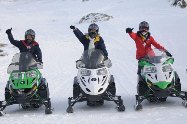 Imagen de una de las actividades de Calafate Mountain Park