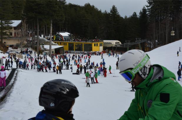 Día de esquí en Camigliatello Silano