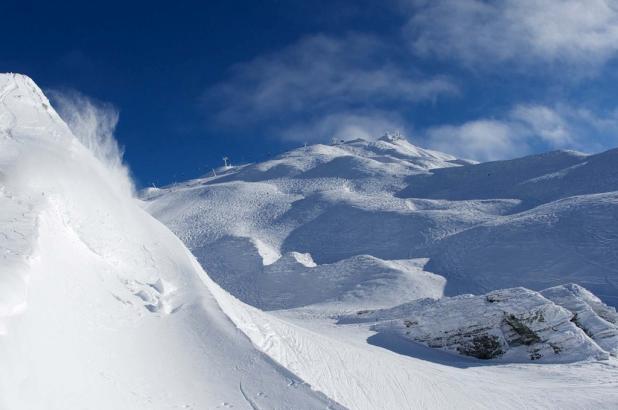 Estación de esquí de Cardrona en Nueva Zelanda
