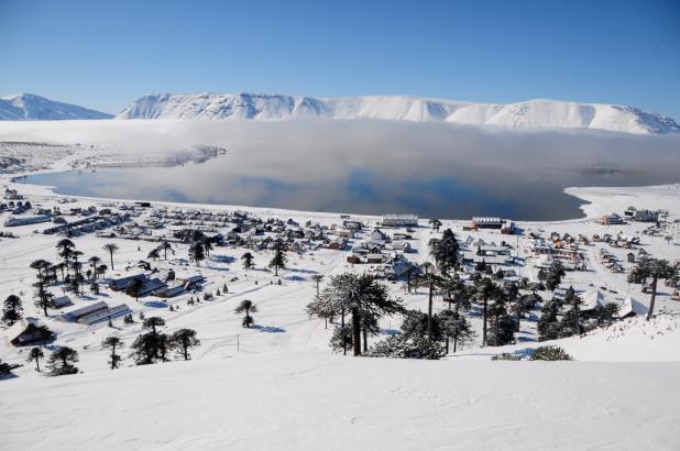 Gran imagen de la estación de esquí de Caviahue en Neuquén