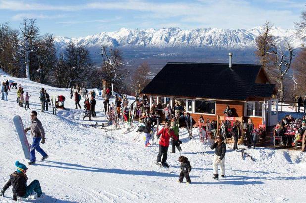 Imagen de la estación de esquí de Cerro Perito Moreno en Patagonia