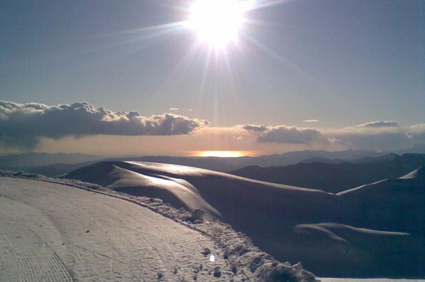 Hermoso paisaje en Corno alle Scale
