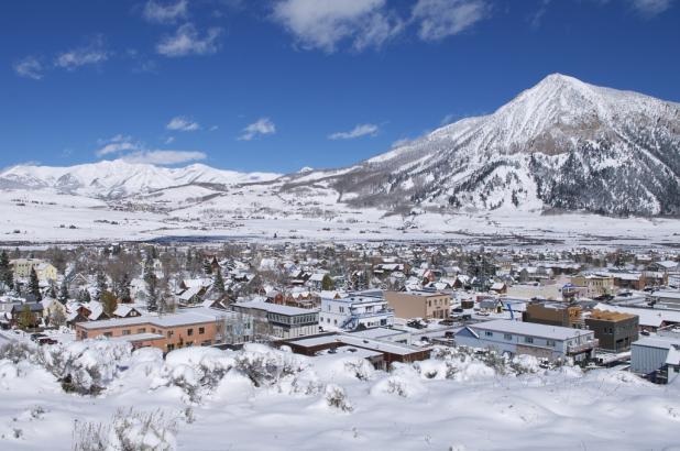 Población de Crested Butte en Colorado
